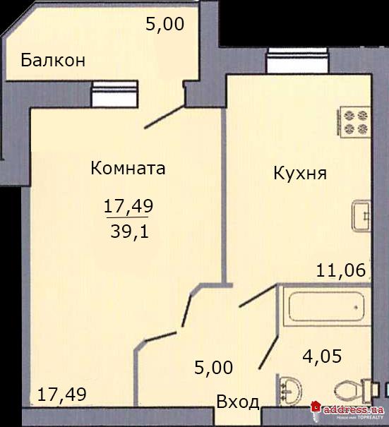 ЖК Петропавловский Посад: Однокомнатные
