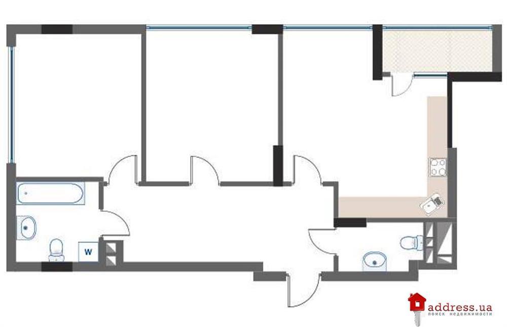 ЖК Hoffmann Haus: Двухкомнатные