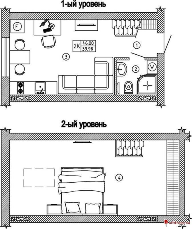 ЖК Comfort House (Комфорт Хаус): Двухкомнатные