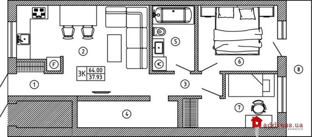 ЖК Comfort House (Комфорт Хаус): Трехкомнатные