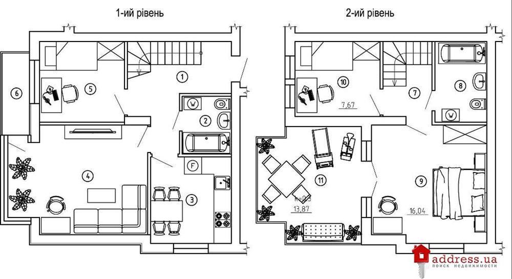 ЖК Comfort House (Комфорт Хаус): Четырехкомнатные