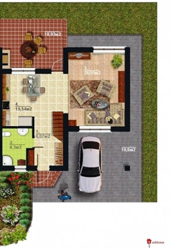 Balaton Village (Балатон): Планировки котеджей