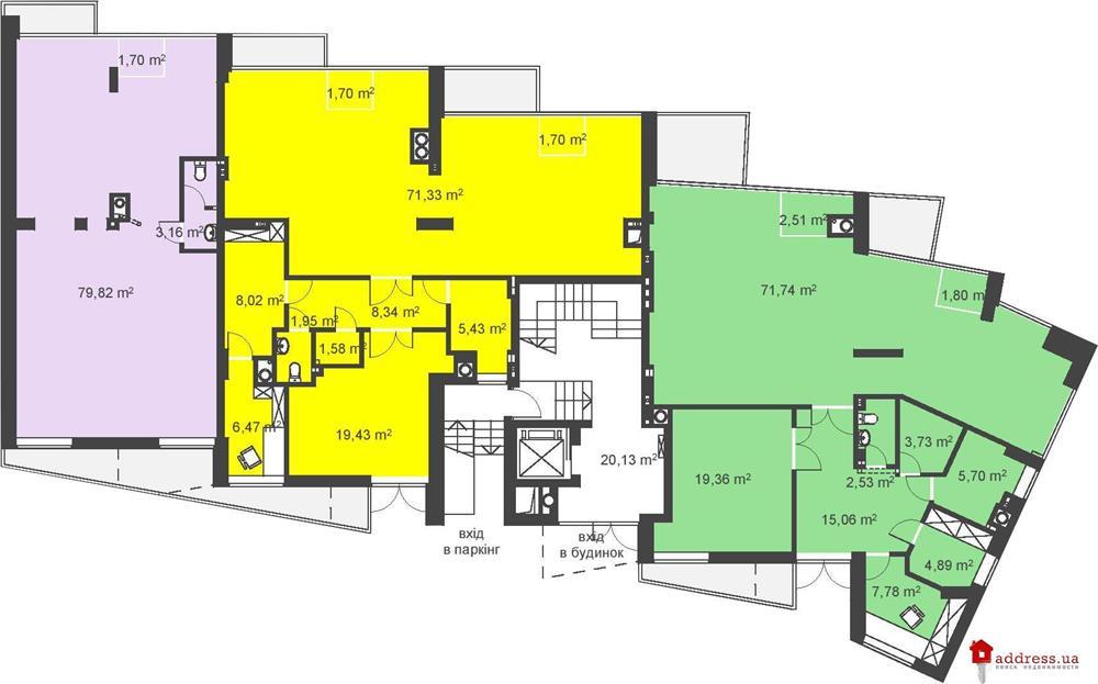 ул. Пасечная, 33: Планы этажей