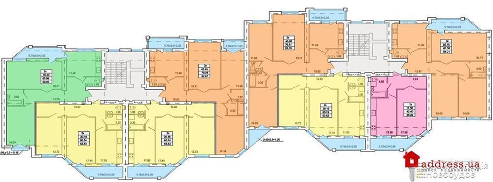 ул. Линкольна, 23: План этажа
