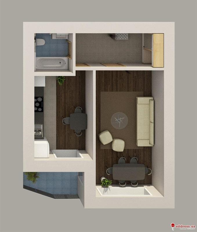 ЖК Рафаэль: 1 комнатные
