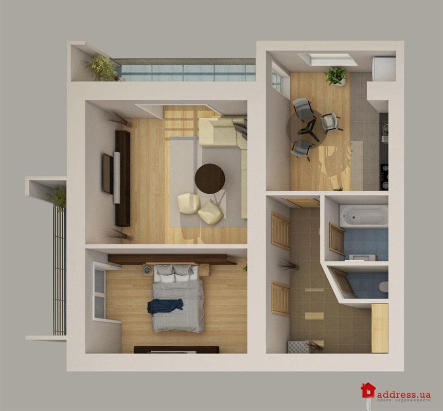 ЖК Рафаэль: 2 комнатные