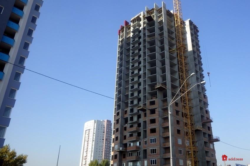ЖК по просп. Оболонский, 1: Октябрь 2018