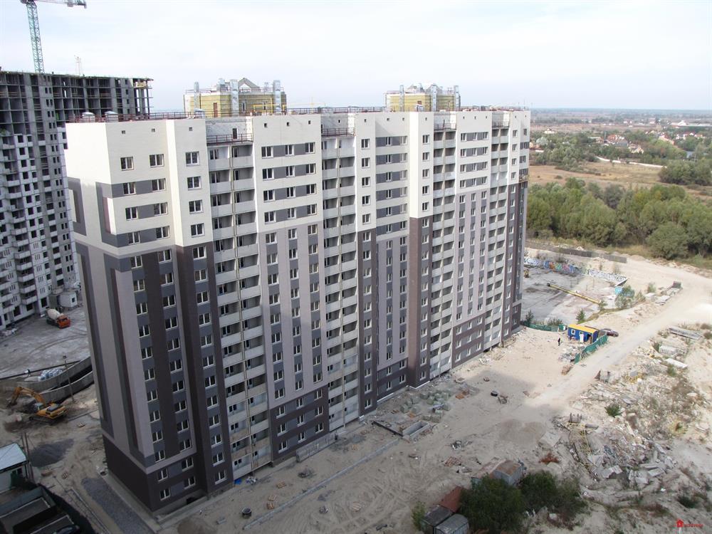 ЖК Жилой дом - 5, Выгуровщина - 20: Октябрь 2015
