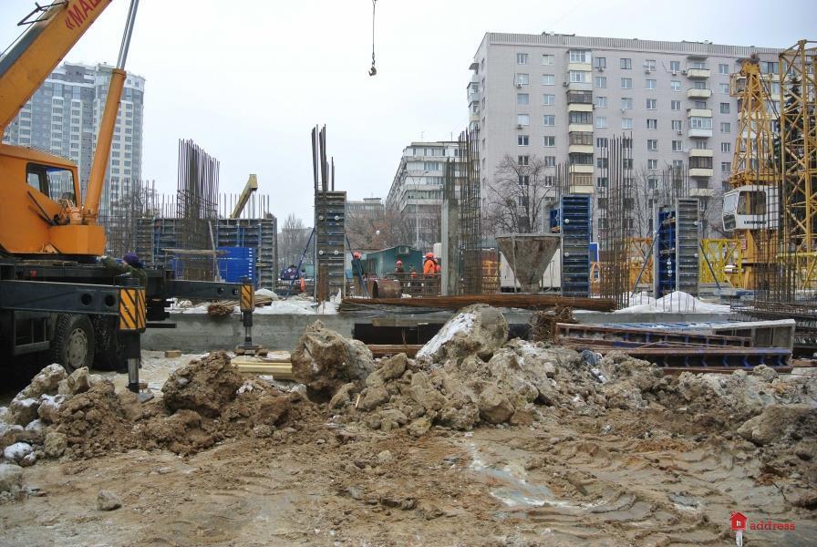 ЖК Гвардейский: Январь 2017