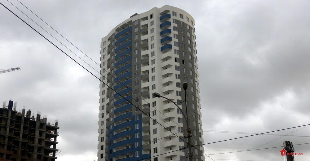 ЖК ул. Горловская, 215а, 215б, 215в: Октябрь 2017