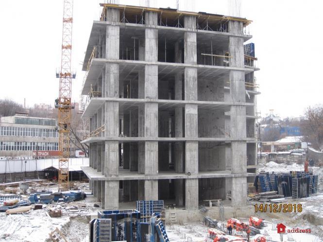 ЖК Podil Plaza & Residence: 14 декабря 2016