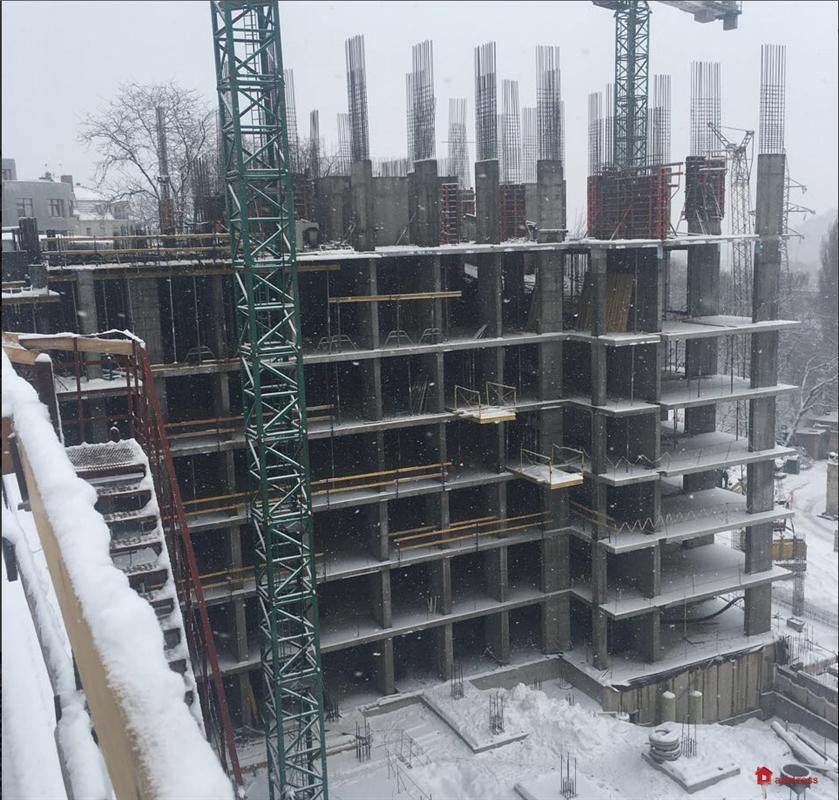 ЖК Edelweiss House: Январь 2018