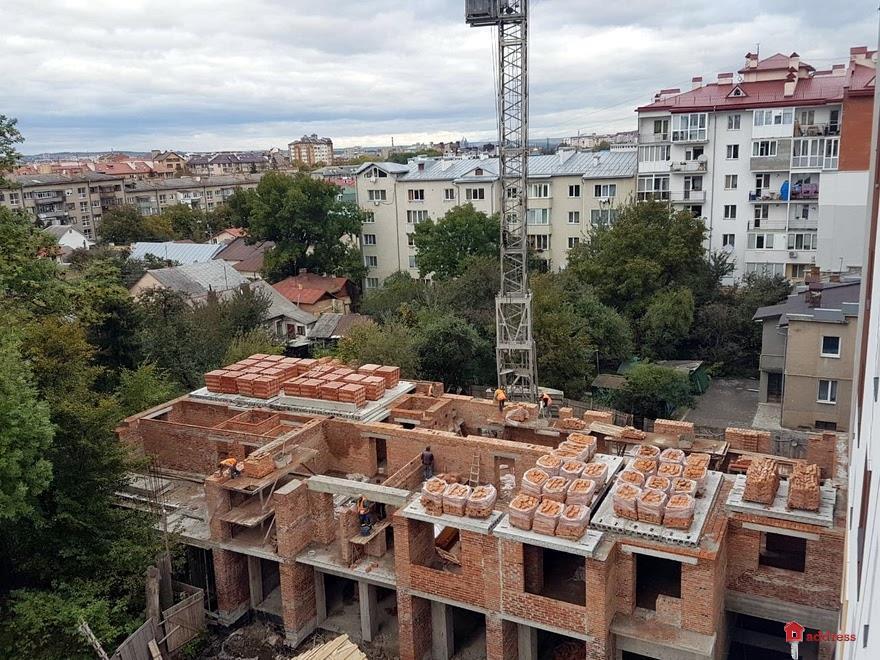 ЖК ул. Железнодорожная, 3: Октябрь 2017