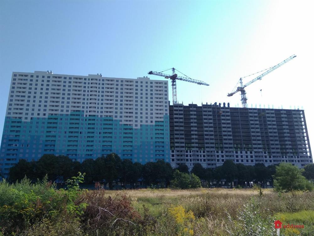 ЖК Одесский бульвар: Август 2019