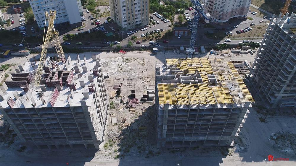 ЖК Урловский-1: Сентябрь 2019