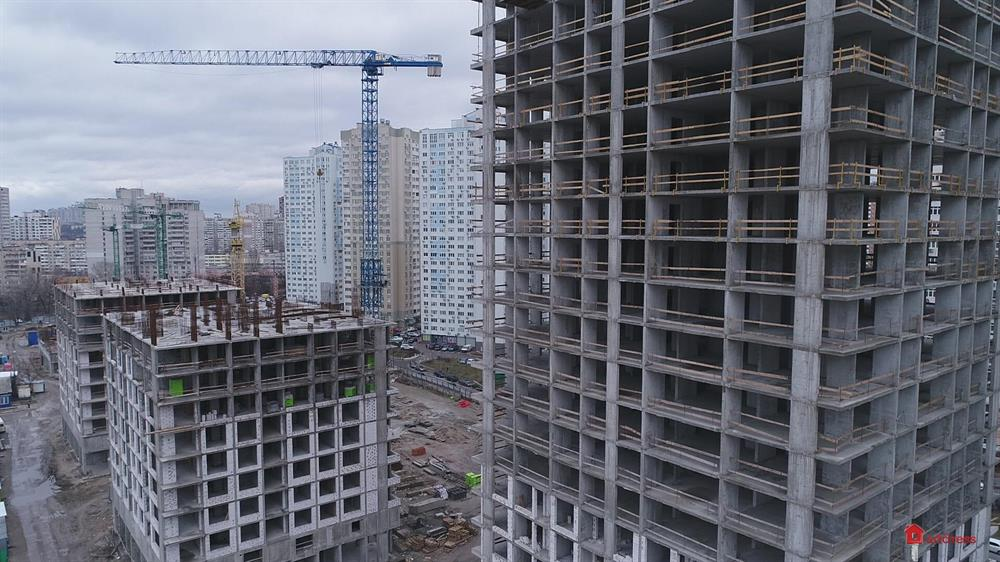 ЖК Урловский-1: Январь 2020