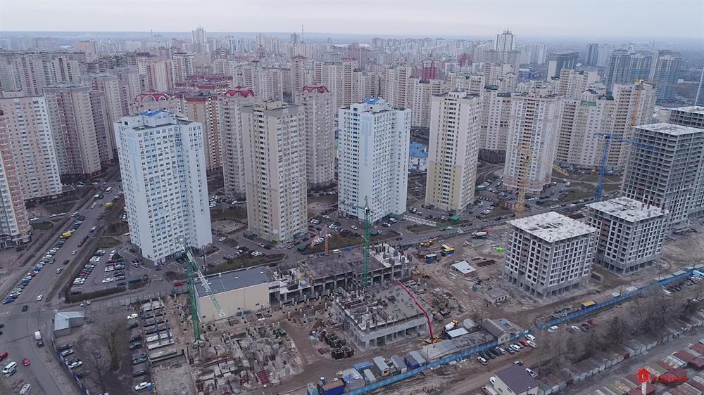 ЖК Урловский-1: Февраль 2020