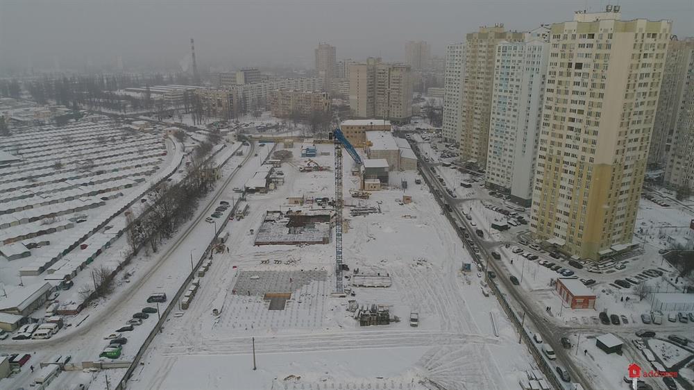 ЖК Урловский-1: Январь 2019