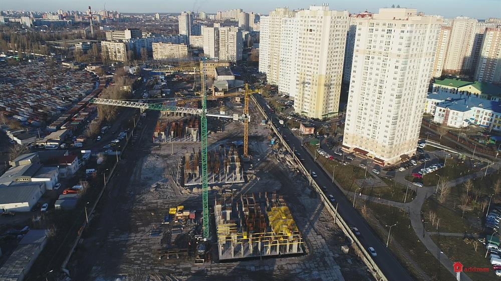 ЖК Урловский-1: Март 2019