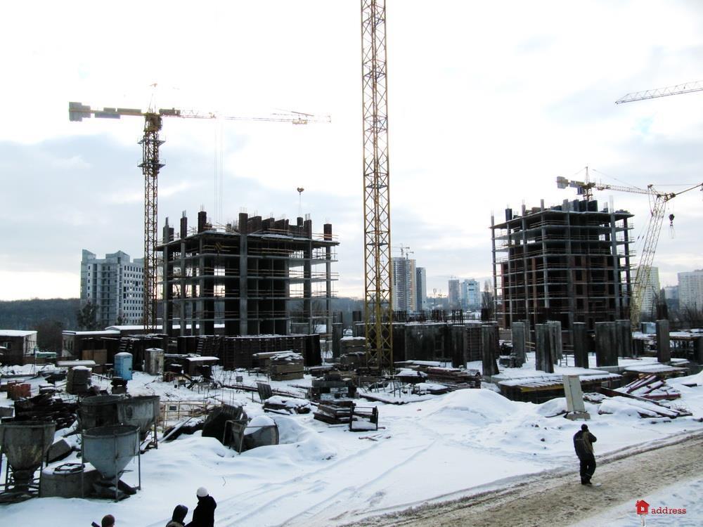 Жилой квартал Новопечерские Липки: Январь 2019