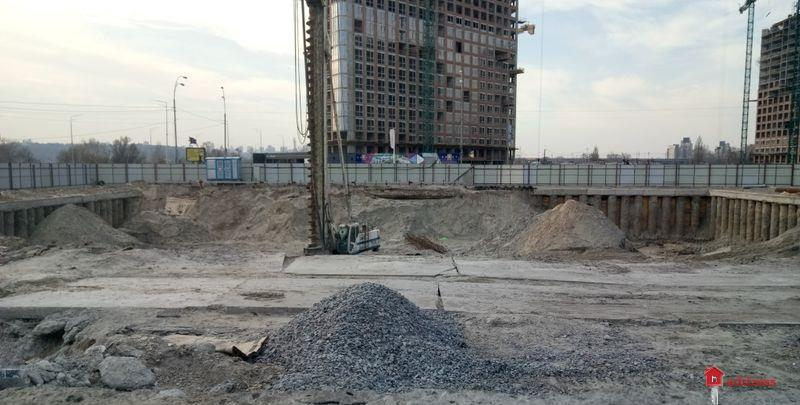 ЖК Берег Днепра: Март 2020