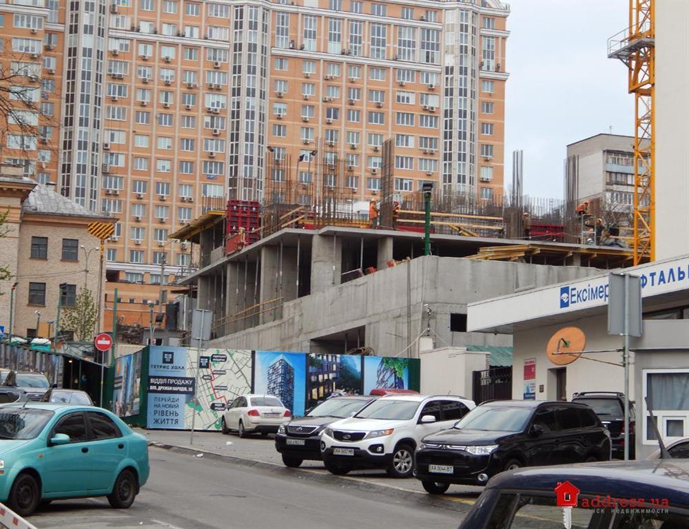 ЖК Tetris Hall: Апрель 2014