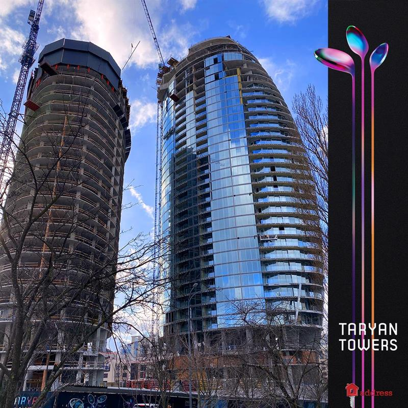 ЖК Taryan Towers: Февраль 2020