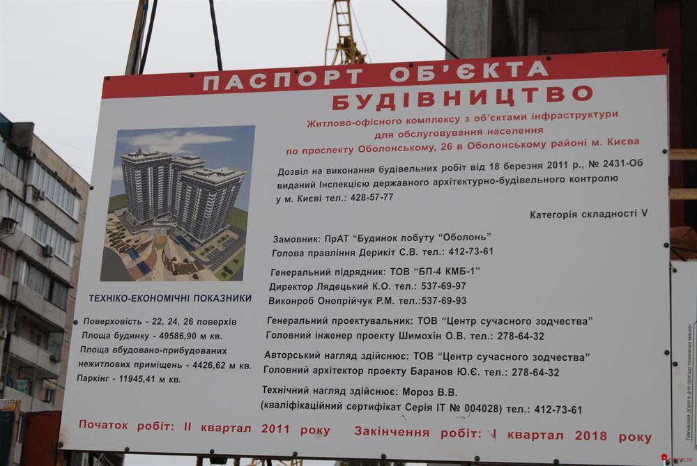 Obolon Residences: Октябрь 2014