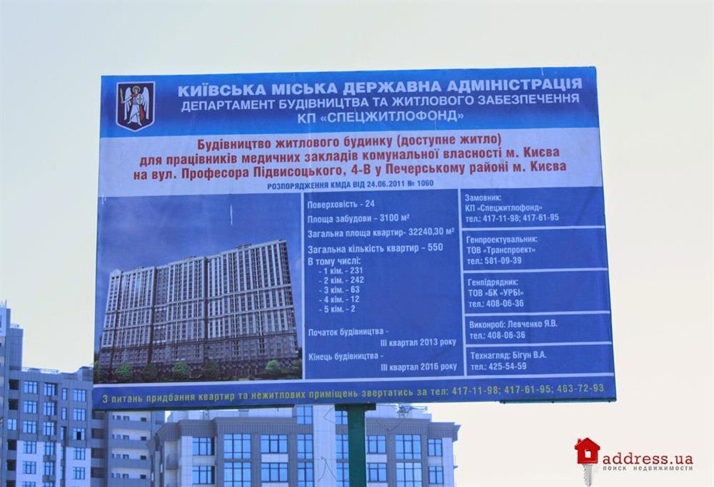 ЖД по ул. Подвысоцкого профессора 4в: Апрель 2014
