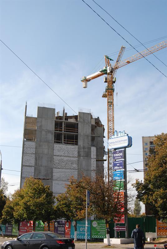 ЖК Синеозерный: Октябрь 2014