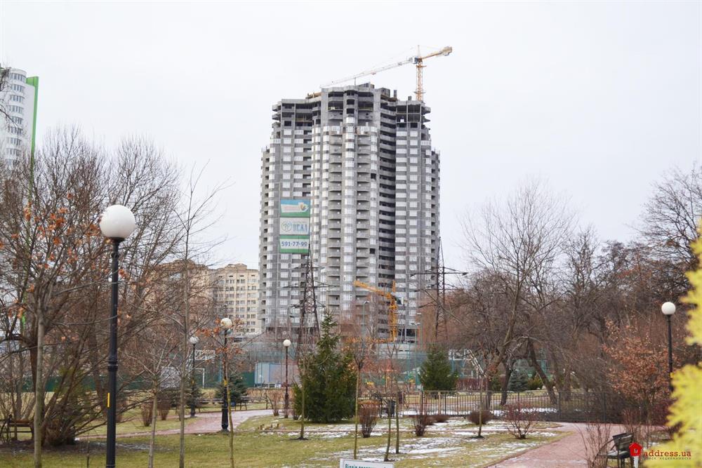 ЖК Паркова вежа: Январь 2015