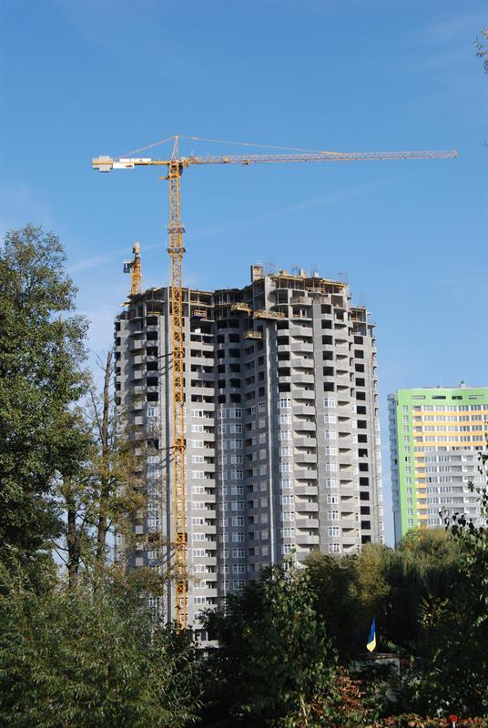ЖК Паркова вежа: Октябрь 2014