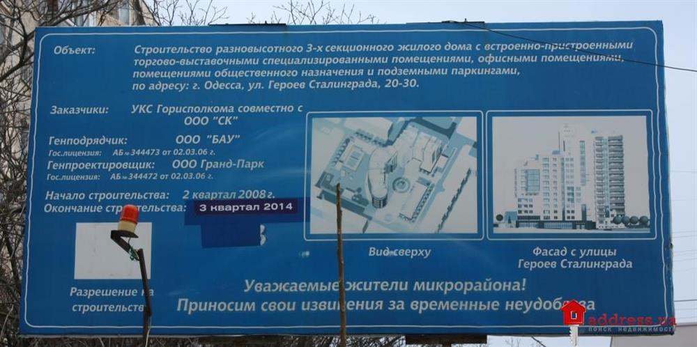 ЖК Гранд Парк (Жилой дом Котовский): Март 2015