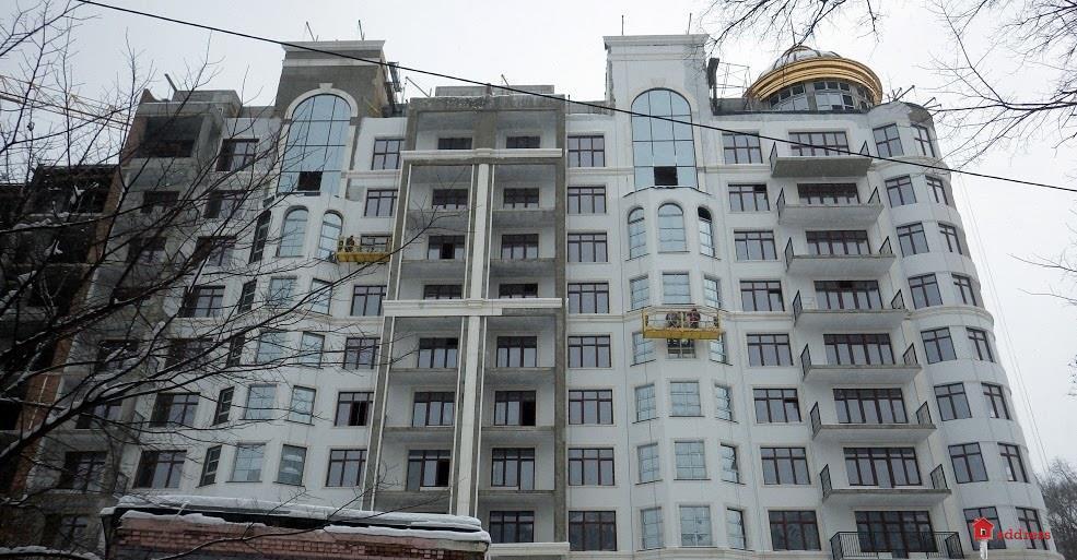 ЖК 52 Жемчужина (Pechersk Plaza): Декабрь 2018