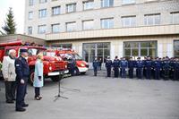 Спасателям Харьковщины вручили сертификаты на служебное жилье