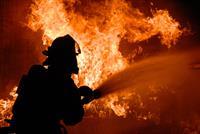 На улице Братской горел жилой дом барачного типа