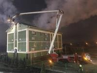 В Киеве горел храм «свидетелей Иеговы»: есть пострадавшие