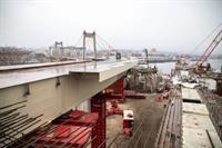 Как идет строительство Подольско-Воскресенского моста (видео)