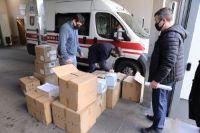 City One Development передала медицинское оборудование для больницы №12