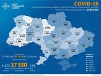 За сутки зафиксировано 483 новых случая коронавируса