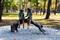 В парке Горького строят инклюзивную детскую площадку