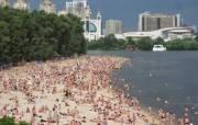 На каких пляжах в Киеве безопасно и разрешили купаться