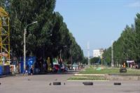 Реконструкция парка Победы с высоты (видео)