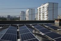 На крыше столичной многоэтажки установили самую мощную в Украине СЭС