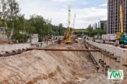 Киевлянам показали новое видео строительства метро на Виноградарь