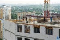 """Во второй секции МФК """"Манхэттен"""" устанавливают вертикальные конструкции пятнадцатого этажа"""