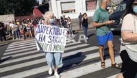 «Харьков против Коксохима»: харьковчане перекрыли улицу в знак протеста