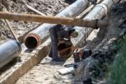В Киеве реконструируют трубопровод, которой обеспечивает водой 400 домов