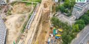 На строительстве метро на Виноградарь проложили уже 100 метров тоннеля