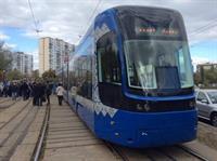 На левом берегу начнут курсировать два новых трамвая